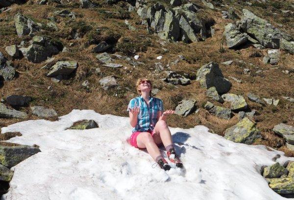 Schnee Zirbitzkogel