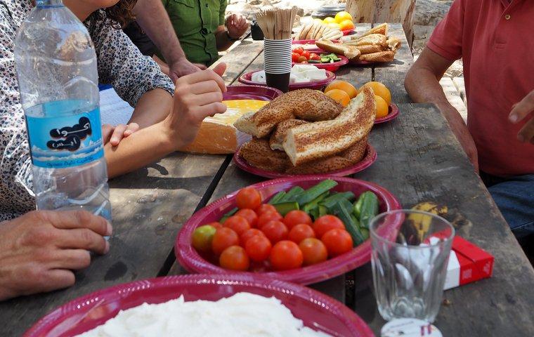 wadi qelt picnic lunch