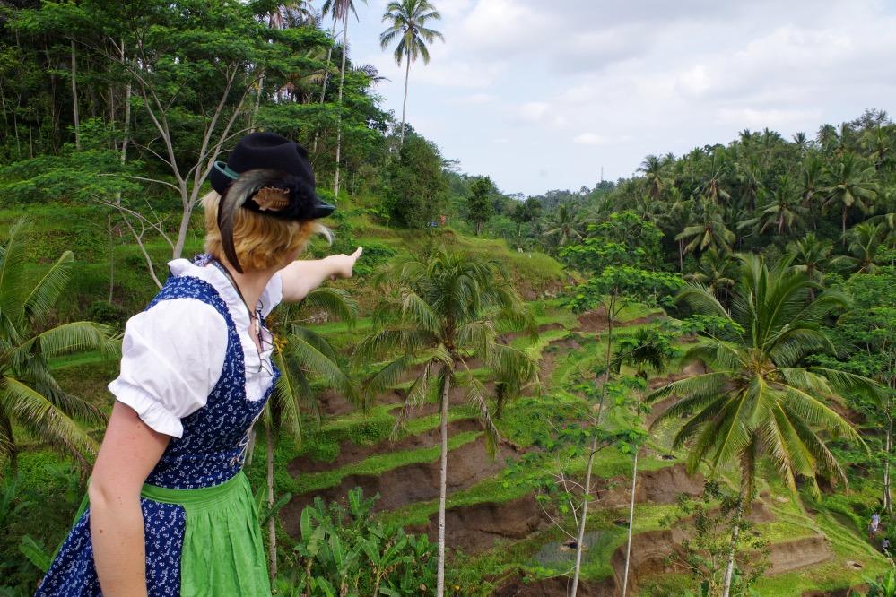 Dirndl Bali Rice Terasse Viktoria Urbanek