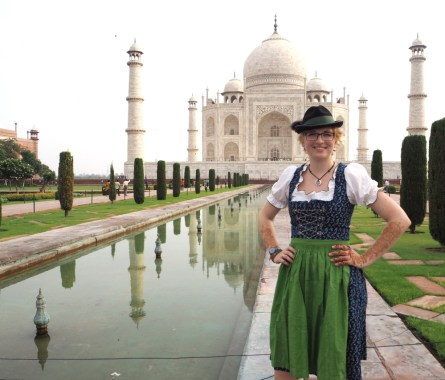 Dirndl Taj Mahal Viktoria Urbanek