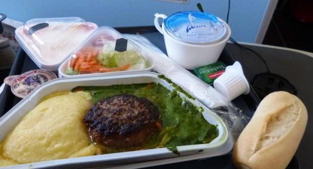 Essen auf VIE-DXB Austrian