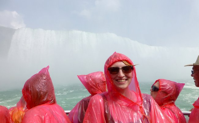 2 Week Road trip through Ontario and Quebec - Down the niagara falls