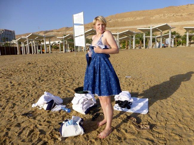 Israel Dirndl Viktoria Urbanek Dead Sea