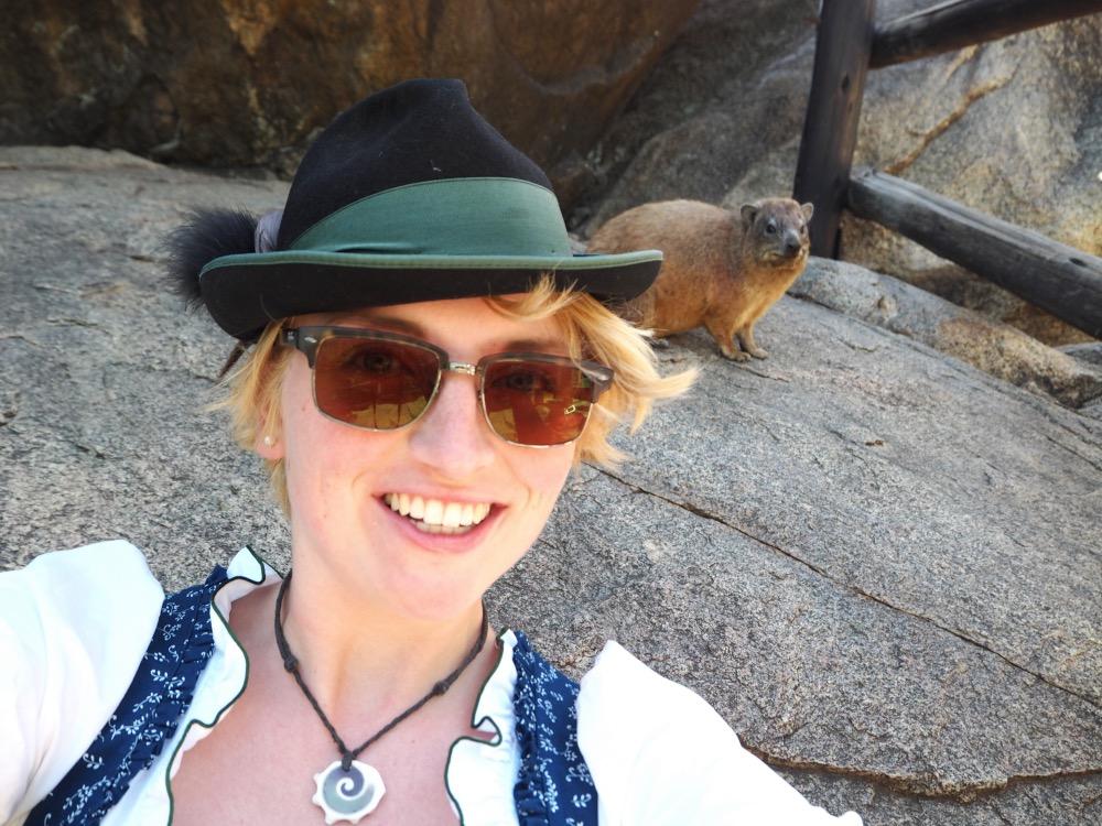 Serengeti Selfie National Park Dirndl