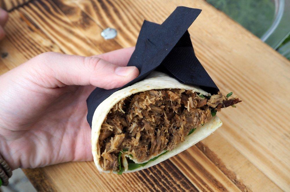 Longhorn Texas Grill Wrap Street Food Festival Graz