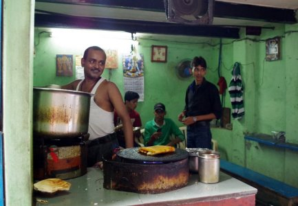 masala dosa street food shop