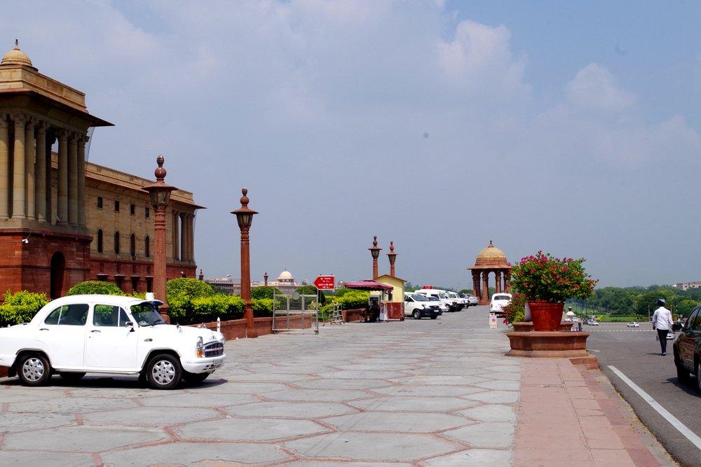 near presidents residence