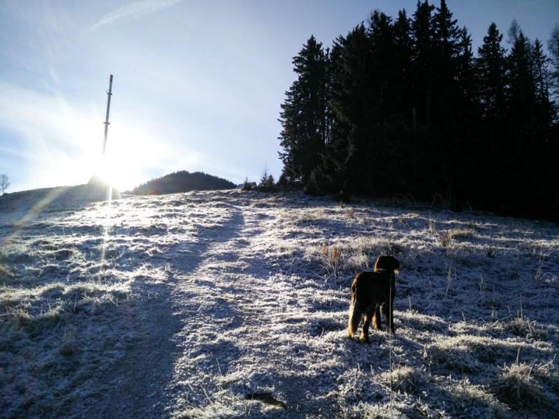 Winterwanderung Mugel