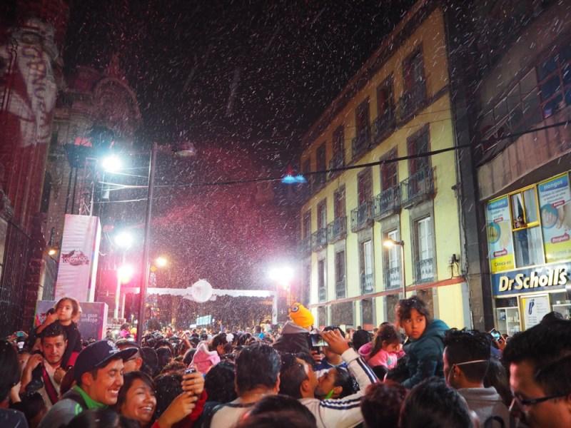 Snow in Mexico City