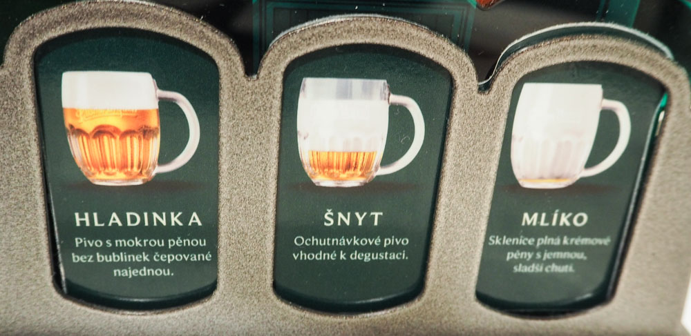 Snyt mliko beer types