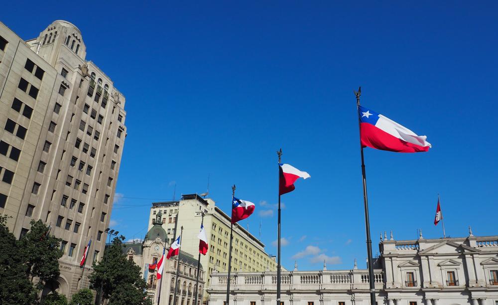 Palacio de la Moneda Santiago de Chile