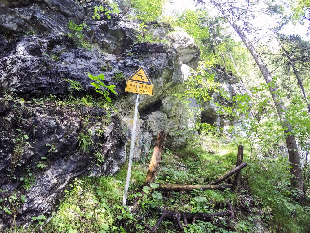 Höhlentrekking Kreidelucke