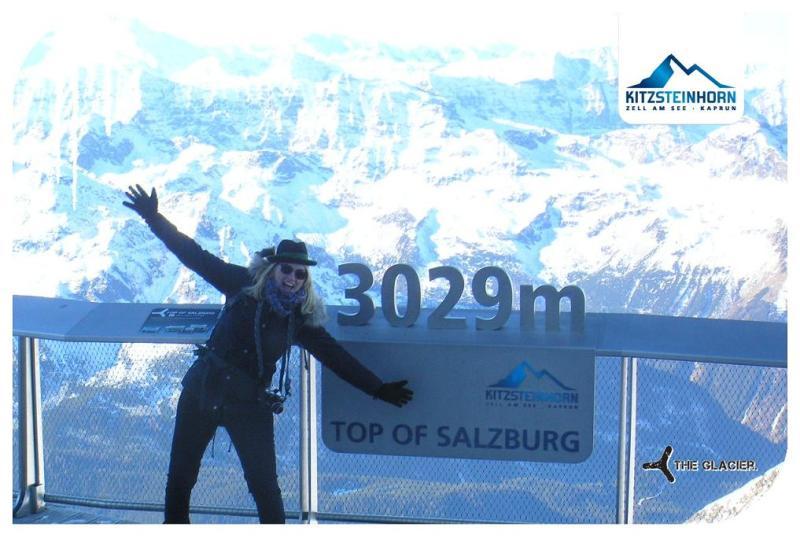 Ganz oben Kitzsteinhorn