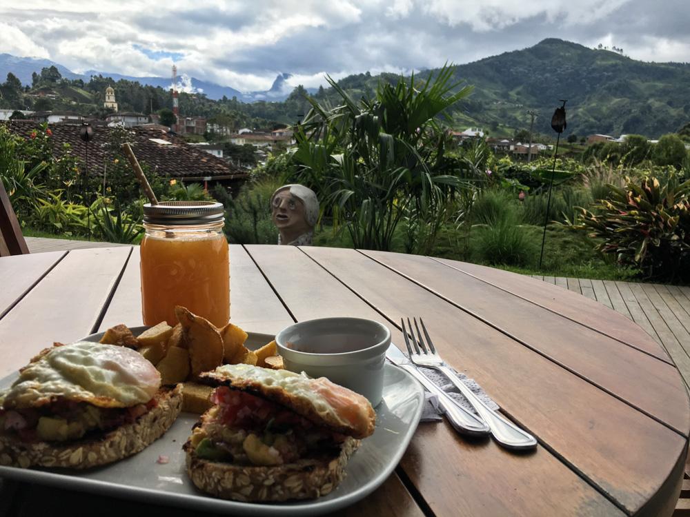 Luciernaga Salento Kaffeezone Kolumbien