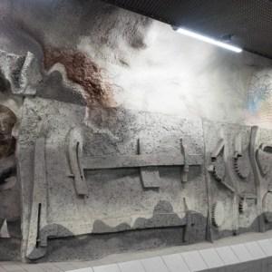 Tekniska Hogskolan Metrostation Stockholm