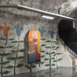 Tensta Metrostation Stockholm