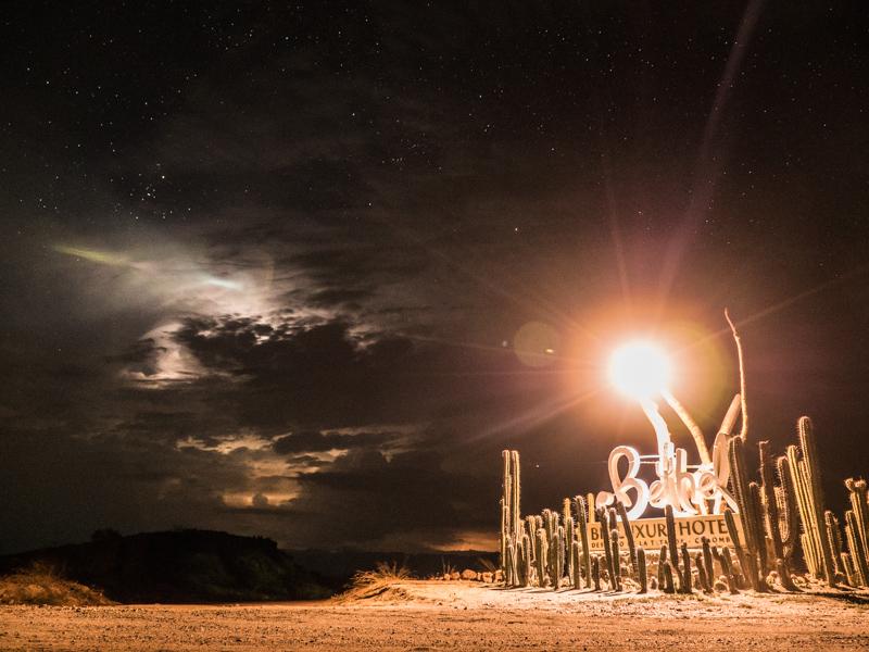 Sternenhimmel Tatacoa Wüste Kolumbien
