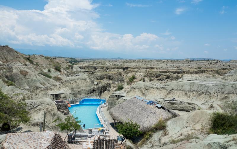 Tatacoa Wüste Kolumbien Pool