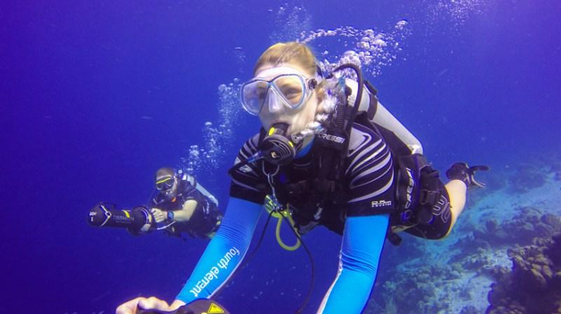 Unterwasserscooter Bonaire Buddy Dive