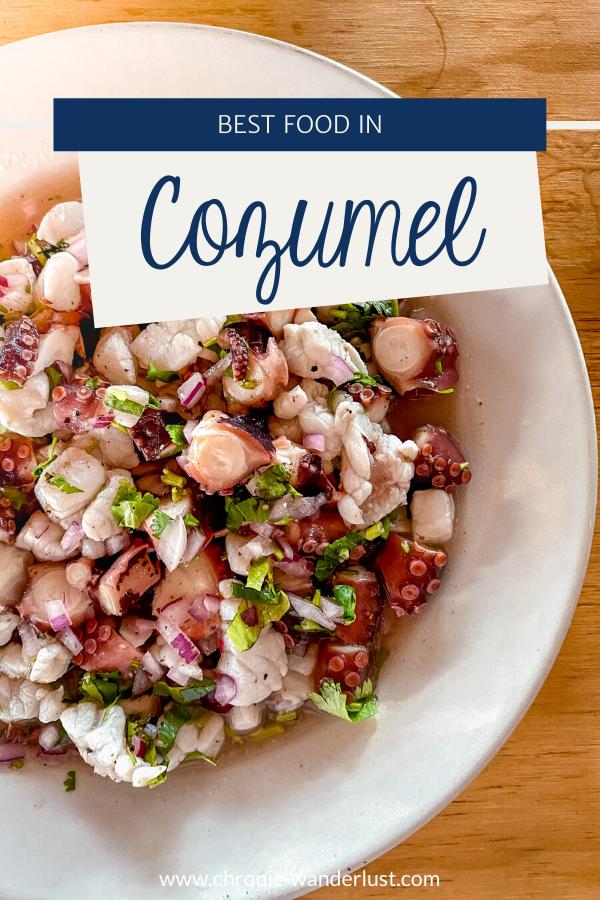 Best Food in Cozumel