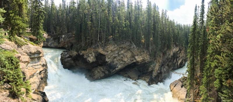 Sunwapta Falls Jasper Nationalpark