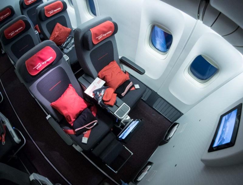 Austrian Airlines Premium Economy Class