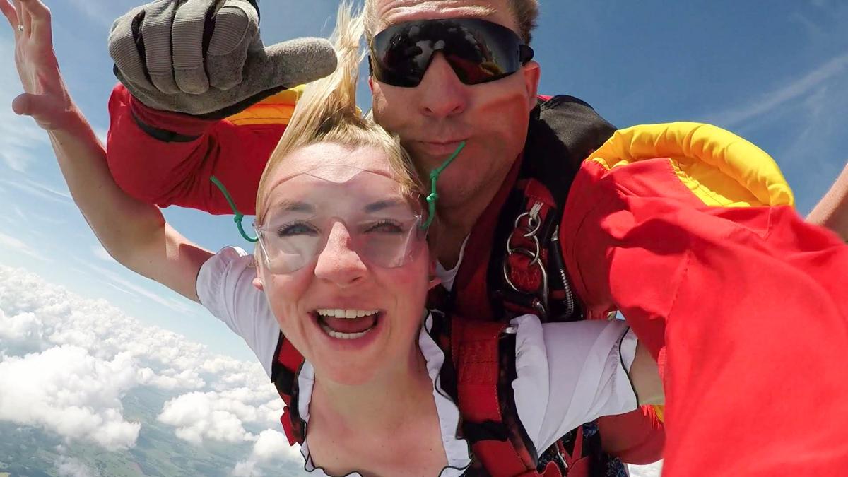 Skydiving in Luxemburg Wiltz