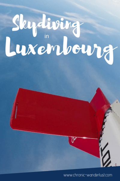 Skydiving in Luxembourg