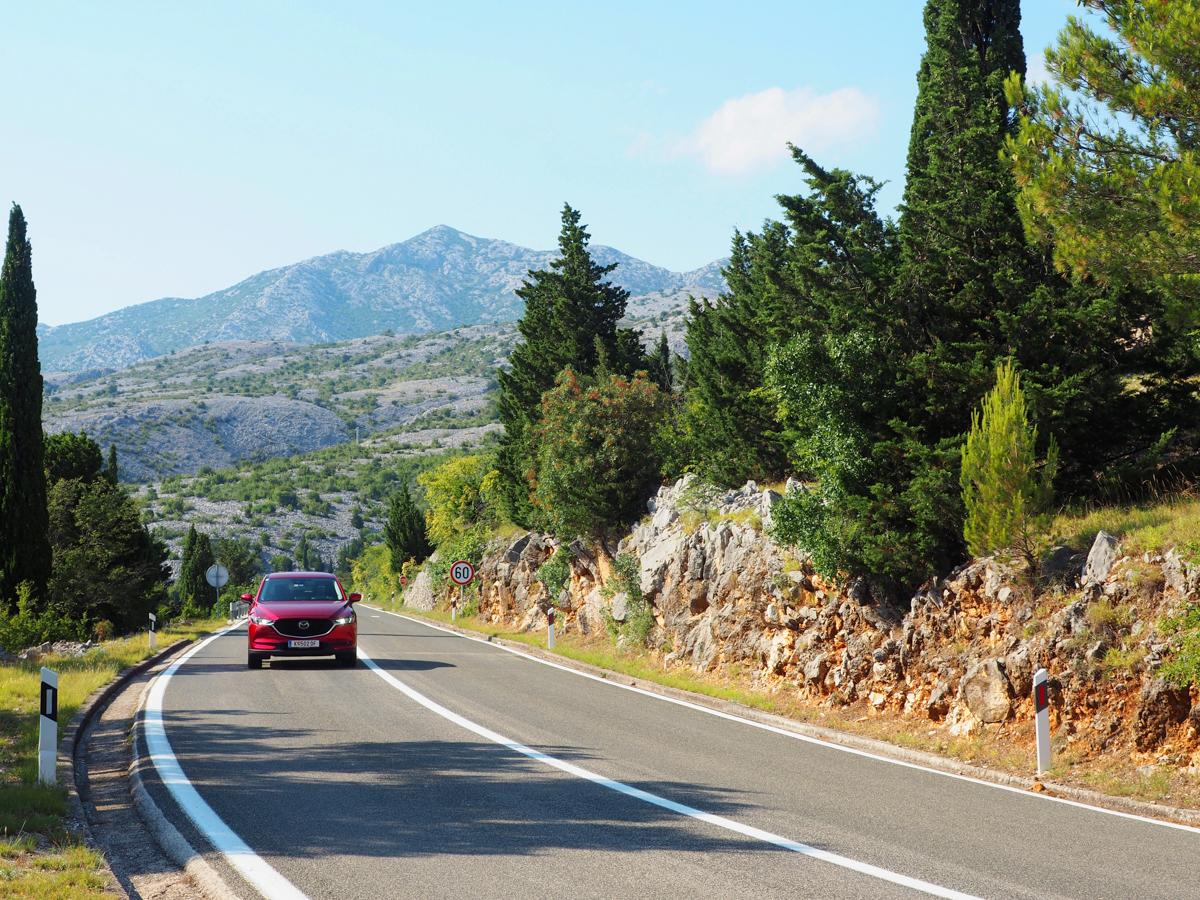 Roadtrip Tauchen Kroatien Mazda