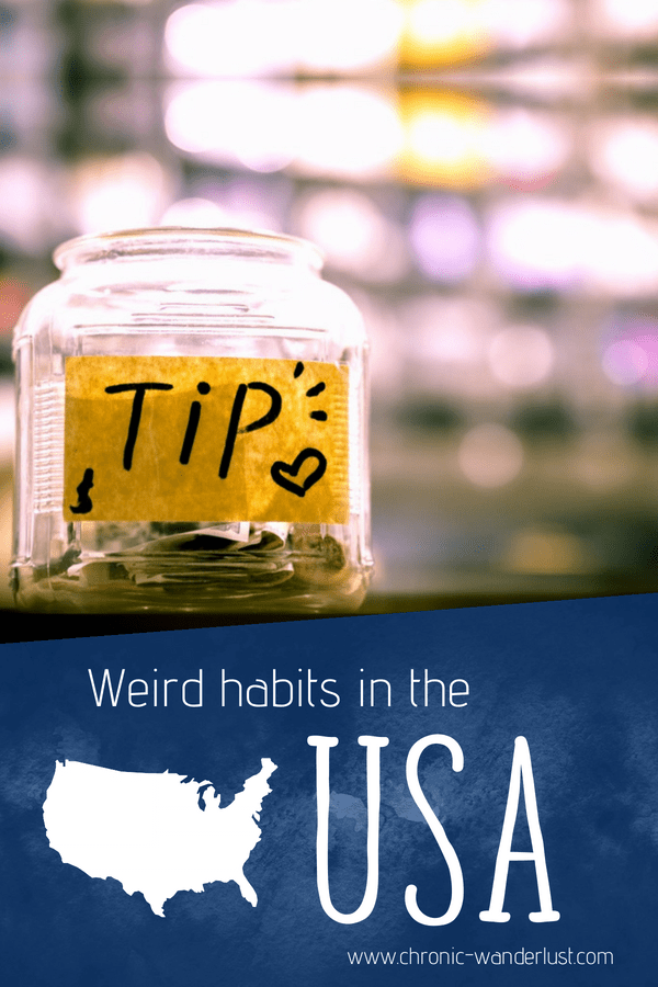 weird habits in the us