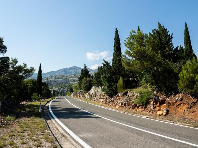 Roadtrip Kroatien alte Küstenstraße