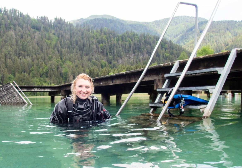 Tauchen in Kärnten Weissensee