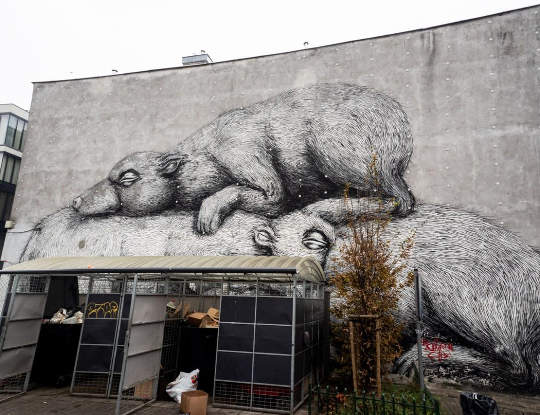 Roadtrip Polen Warschau Roa Street Art