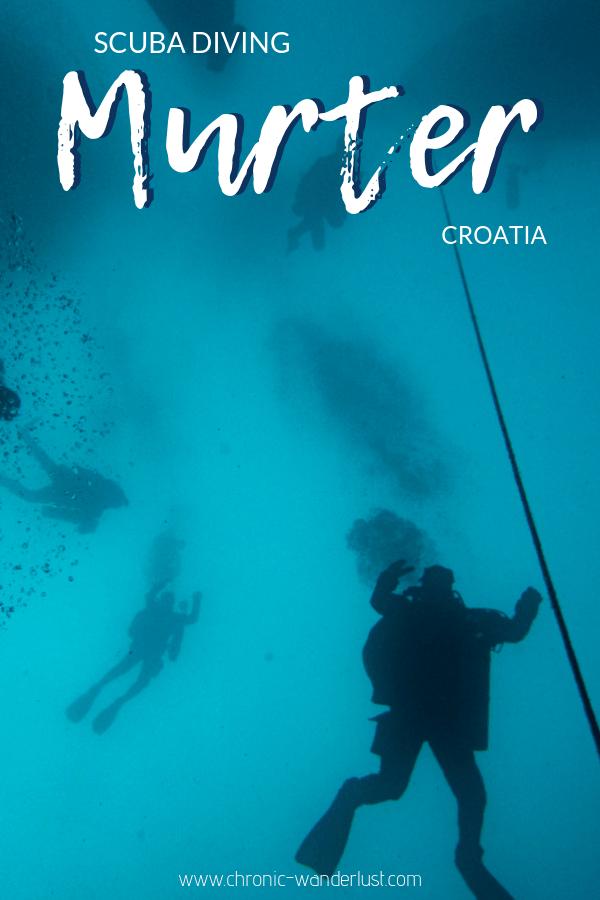 scuba diving murter croatia