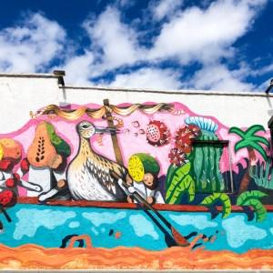 La Paz Tagesausflug Street Art