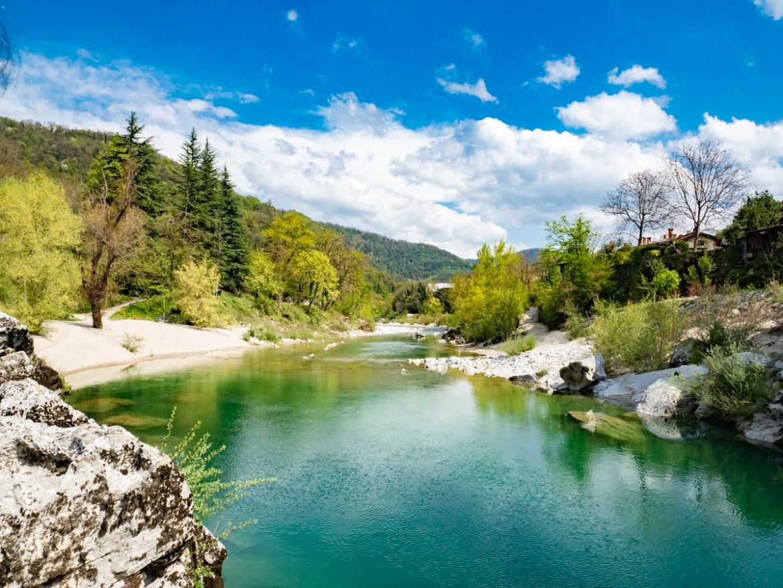 Slowenien Roadtrip Kanal ob Soci
