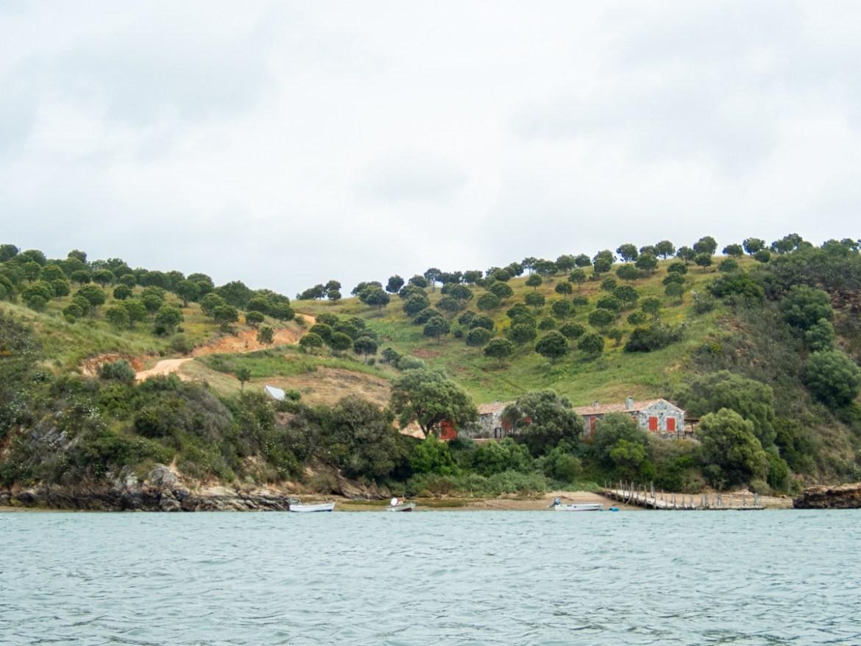 Portugal Rota Vicentina Kanu fahren Mira
