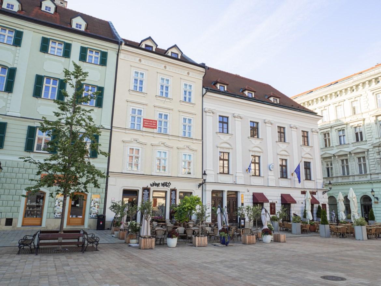 Main Square Bratislava Day Trip