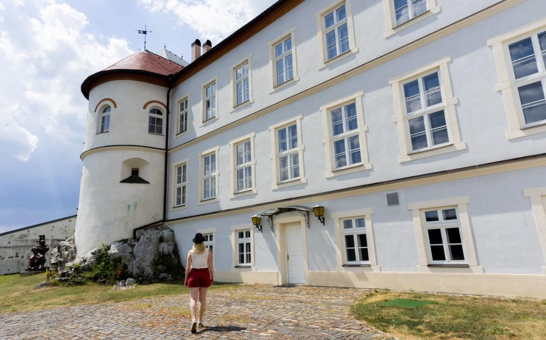 Slowakei Burg Liptsch