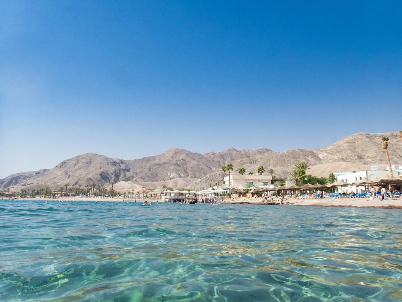 Eilat Tauchen Israel Rotes Meer Aufgetaucht
