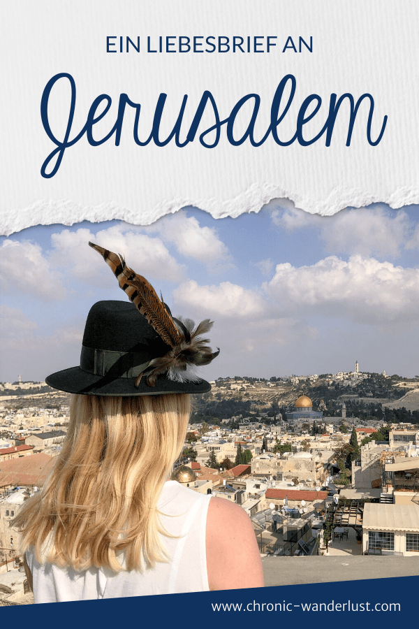 Jerusalem Liebesbrief
