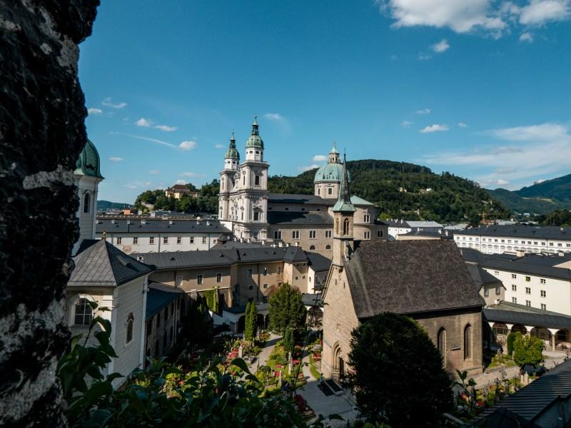 Katakomben Salzburg Aussichtspunkt