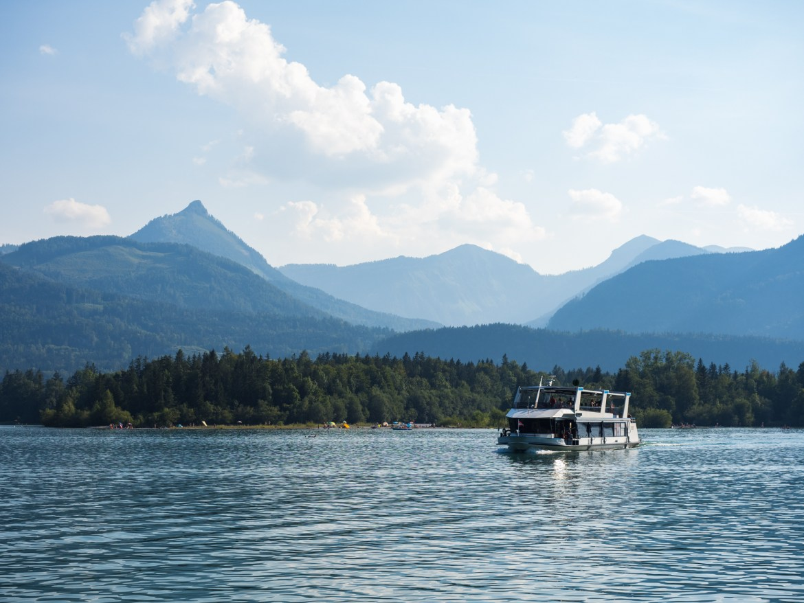 Boat trip on the Wolfgangsee