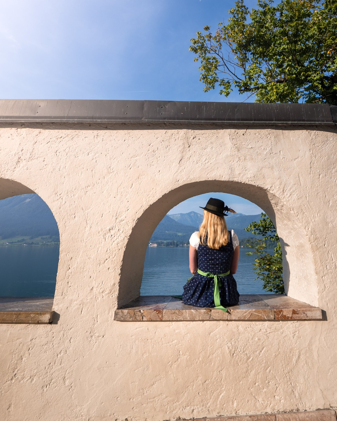 Viktoria Urbanek Dirndl Austrian Travel Blog St Wolfgang