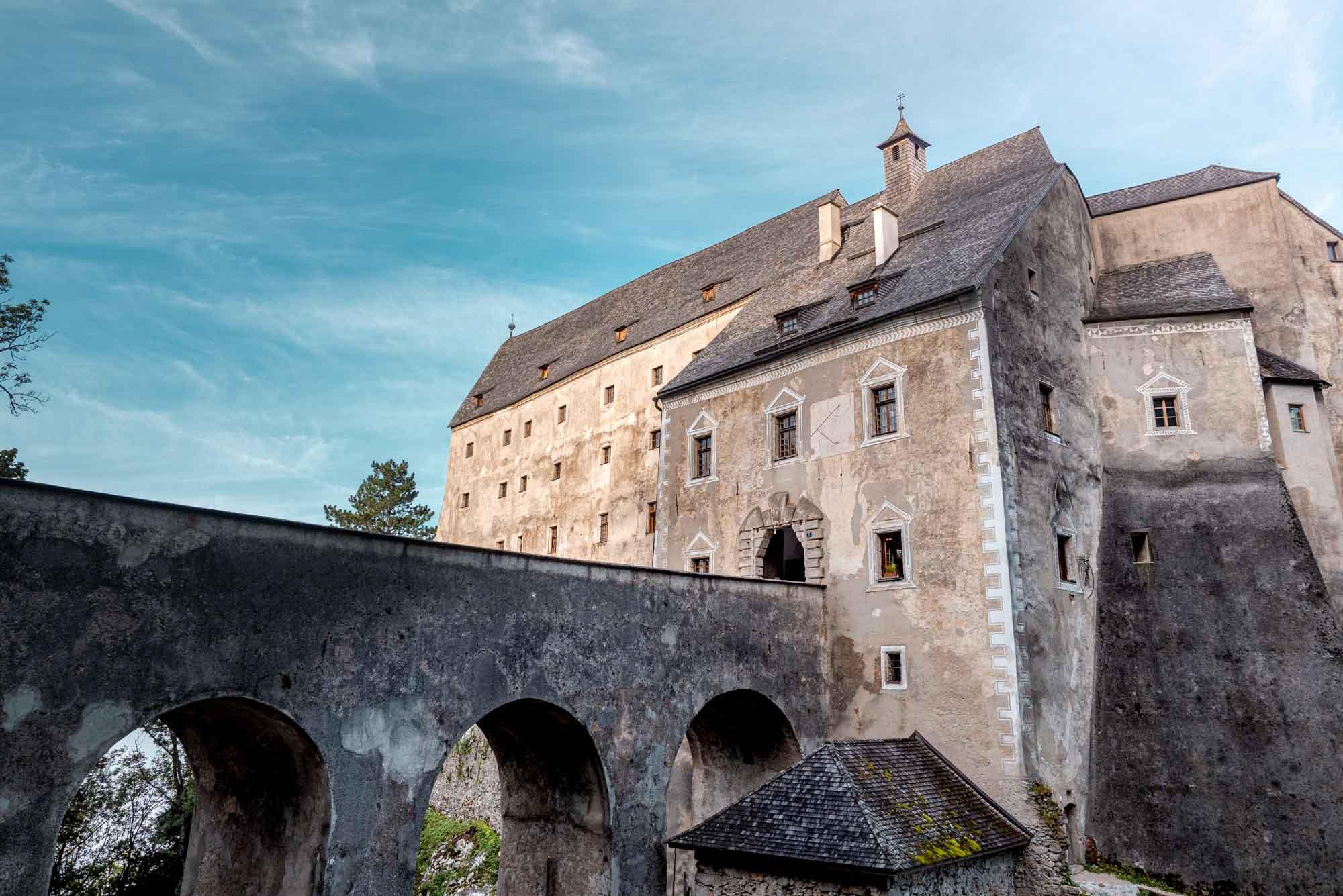 Burg Altpernstein Wanderung Traunviertel