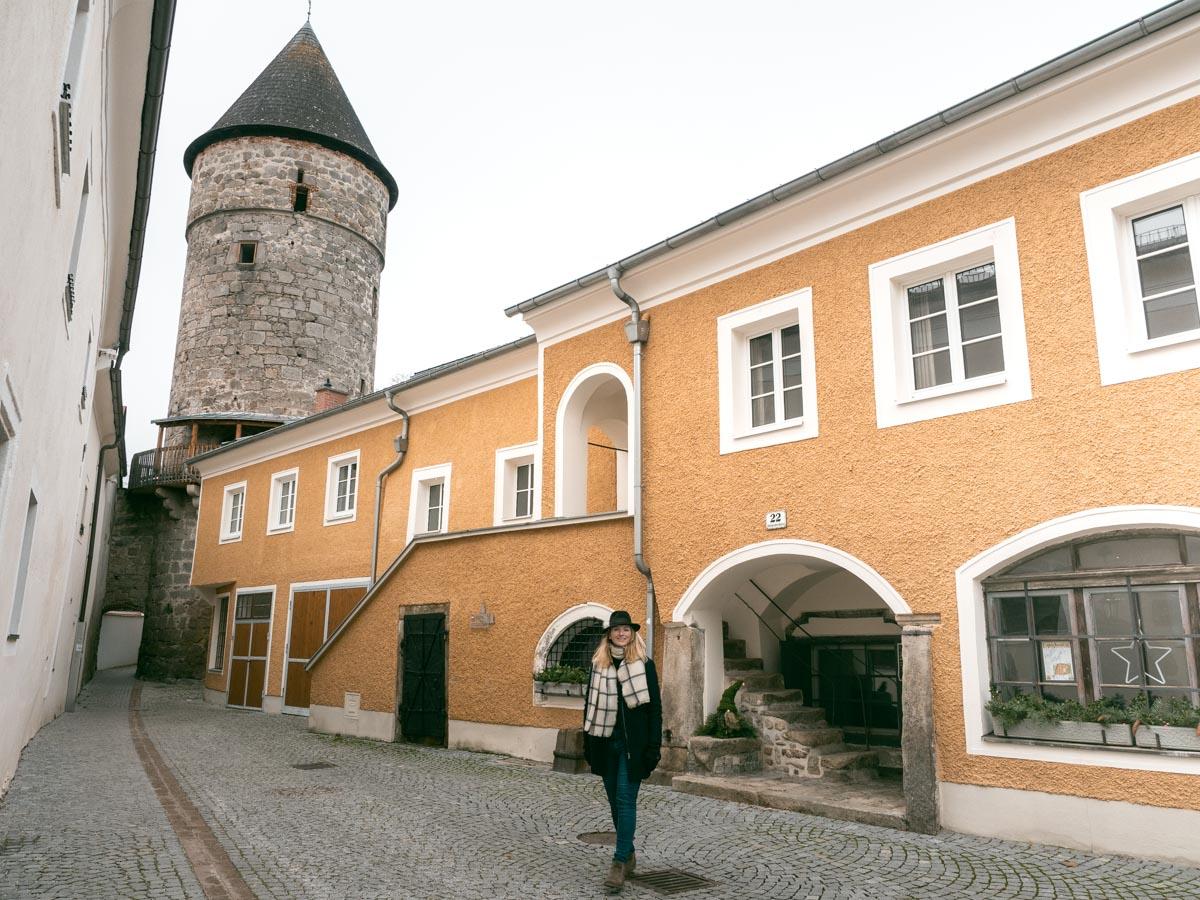 Freistadt im Winter