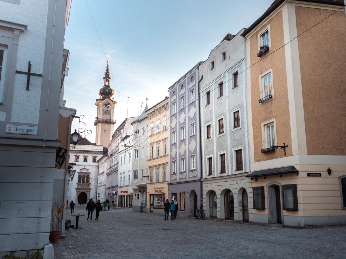 Linz im Winter
