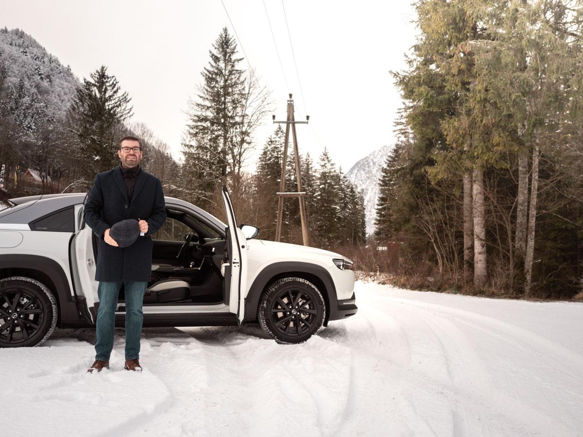 Winter Mazda