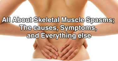 All About Skeletal Muscle Spasms; The causes, Symptoms, and Everything else