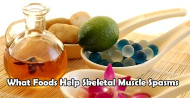What Foods Help Skeletal Muscle Spasms